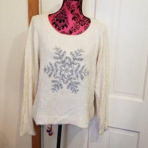 Lauren conrad snowflake sweater